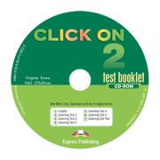 Curs limba Engleza Click On 2 CD-ROM cu teste - Virginia Evans, Neil O'Sullivan