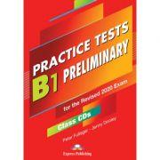 Curs limba engleza examen Cambridge B1 Preliminary Practice Tests for the Revised 2020 Exam Audio CD la manual set de 5 CD-uri - Peter Fullagar, Jenny Dooley