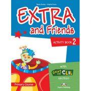 Curs limba Engleza Extra and Friends 2 Caietul elevului - Jenny Dooley, Virginia Evans
