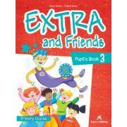 Curs limba Engleza Extra and Friends 3 Manualul elevului - Jenny Dooley, Virginia Evans