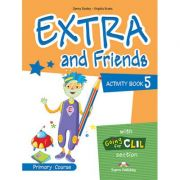 Curs limba Engleza Extra and Friends 5 Caietul elevului - Jenny Dooley, Virginia Evans
