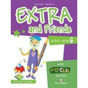Curs limba Engleza Extra and Friends 6 Caietul elevului - Jenny Dooley, Virginia Evans