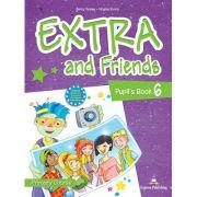 Curs limba Engleza Extra and Friends 6 Manualul elevului - Jenny Dooley, Virginia Evans