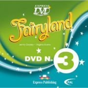Curs limba engleza Fairyland 3 DVD - Jenny Dooley, Virginia Evans