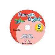 Curs limba Engleza Fun with English 5 MULTI-ROM - Jenny Dooley, Virginia Evans
