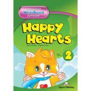 Curs limba engleza Happy Hearts 2 Software pentru tabla interactiva - Jenny Dooley, Virginia Evans