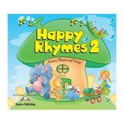 Curs limba engleza Happy Rhymes 2 Carte uriasa - Jenny Dooley, Virginia Evans