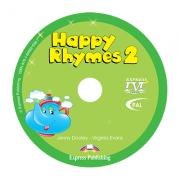 Curs limba engleza Happy Rhymes 2 DVD - Jenny Dooley, Virginia Evans