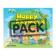 Curs limba engleza Happy Rhymes 2 Pachetul elevului - Jenny Dooley, Virginia Evans