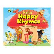 Curs limba engleza Hello Happy Rhymes Manualul elevului - Jenny Dooley, Virginia Evans