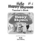 Curs limba engleza Hello Happy Rhymes Manualul profesorului - Jenny Dooley, Virginia Evans