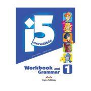 Curs limba engleza Incredible 5 1 Caiet si Gramatica - Jenny Dooley, Virginia Evans