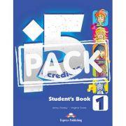 Curs limba engleza Incredible 5 1 Manualul Elevului cu ieBook - Jenny Dooley, Virginia Evans