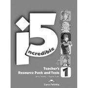 Curs limba engleza Incredible 5 1 Material aditional pentru profesor cu teste - Jenny Dooley, Virginia Evans