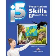 Curs limba engleza Incredible 5 1 Presentation Skills Manualul elevului - Jenny Dooley, Virginia Evans
