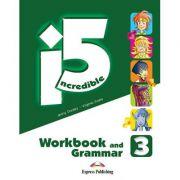 Curs limba engleza Incredible 5 3 Caiet si Gramatica cu Digibook App - Jenny Dooley, Virginia Evans