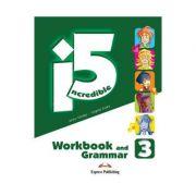 Curs limba engleza Incredible 5 3 Caiet si Gramatica - Jenny Dooley, Virginia Evans