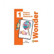 Curs limba engleza iWonder 1 Picture si Word Flashcards - Jenny Dooley, Bob Obee
