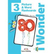 Curs limba engleza iWonder 3 Picture si Word Flashcards - Jenny Dooley, Bob Obee