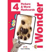 Curs limba engleza iWonder 4 Picture si Word Flashcards - Jenny Dooley, Bob Obee