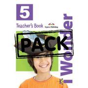Curs limba engleza iWonder 5 Manualul Profesorului cu postere - Jenny Dooley, Bob Obee