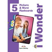 Curs limba engleza iWonder 5 Picture si Word Flashcards - Jenny Dooley, Bob Obee