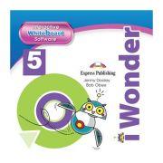 Curs limba engleza iWonder 5 Soft pentru tabla interactiva - Jenny Dooley, Bob Obee