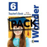 Curs limba engleza iWonder 6 Manualul Profesorului cu postere - Jenny Dooley, Bob Obee