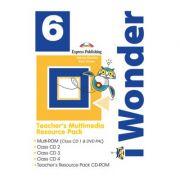 Curs limba engleza iWonder 6 Material multimedia pentru Profesor set 5 CD - Jenny Dooley, Bob Obee
