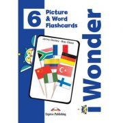 Curs limba engleza iWonder 6 Picture si Word Flashcards - Jenny Dooley, Bob Obee