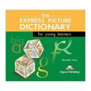 Dictionar ilustrat The Express Picture Dictionary Audio set 3 CD - Elizabeth Gray