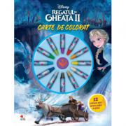 Disney. Regatul de gheata II. Carte de colorat. 12 creioane mici pentru maini de pitici - Disney