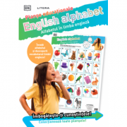 English Alphabet. Alfabetul in limba engleza. Planse educaționale
