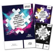 Pachet carti Evaluarea Nationala 2021 Limba si literatura romana - Ghid complet: repere teoretice, 40 de teste, brosura rezolvari complete