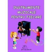 Instrumente muzicale pentru fiecare. Set cu 56 de jetoane