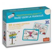 Invat usor la franceza. 50 de harti mentale, volumul II. Clasele a III-a, a IV-a, a V-a - Stephanie Eleaume-Lachaud, Filf