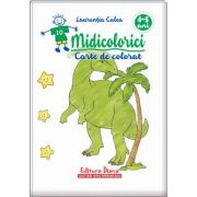 Midicolorici. Carte de colorat 4-5 ani - Laurentiu Culea