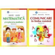 Set Manuale - Comunicare in limba romana si Matematica si explorarea mediului pentru clasa I, autor Constanta Balan si Olga Piriala
