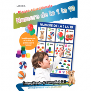 Numere de la 1 la 10. Planse educationale