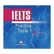 Teste limba engleza IELTS practice tests 1 audio set 2 CD - James Milton, Huw Bell, Peter Neville