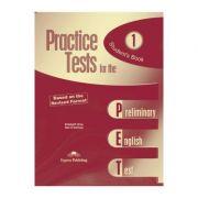 Teste limba engleza Practice tests for the PET 1 Manualul elevului - Elizabeth Gray, Neil O'Sullivan