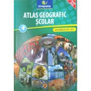Atlas geografic scolar (Clasele IX-XII)