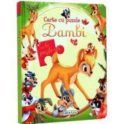 Bambi. Carte cu puzlle