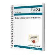 Codul administrativ al Romaniei. Cod 719. Actualizat la 28. 09. 2020