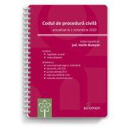 Codul de procedura civila (actualizat la 1 octombrie 2020) - Vasile Bozesan
