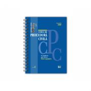 Codul de procedura civila Septembrie 2020 - EDITIE SPIRALATA, tiparita pe hartie alba - Dan Lupascu