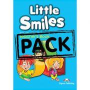 Curs limba engleza Little Smiles Manualul Profesorului cu Postere - Jenny Dooley, Virginia Evans