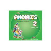 Curs Limba Engleza My Phonics 2 Audio la manual Set 2 CD - Jenny Dooley, Virginia Evans