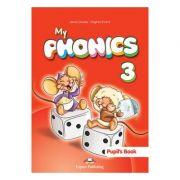 Curs limba engleza My Phonics 3 Manual cu cross-platform App - Jenny Dooley, Virginia Evans