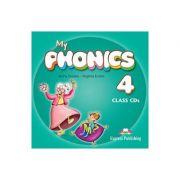 Curs limba engleza My Phonics 4 Set 2 Audio-CD - Jenny Dooley, Virginia Evans